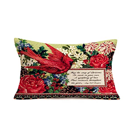 Amazon.com: Xihomeli - Funda de almohada decorativa con ...