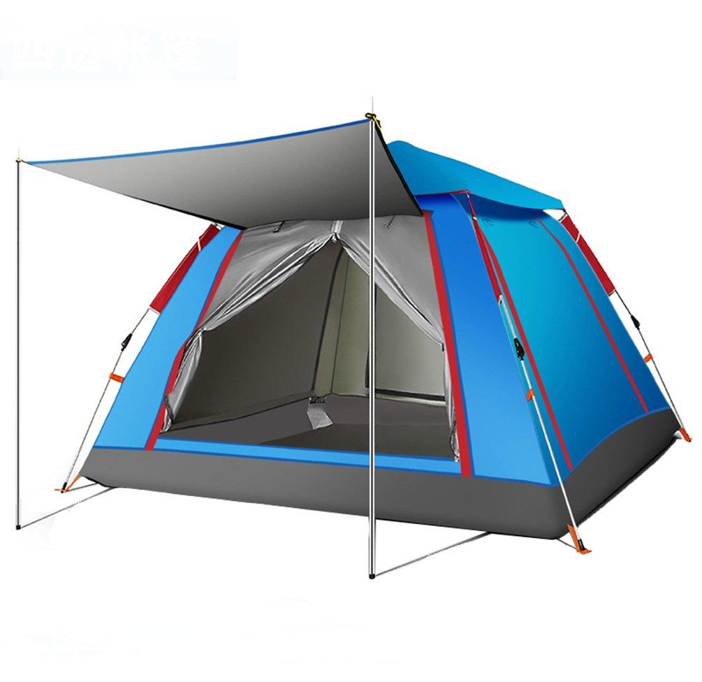 Floving Draussen 3-4 Personen Pop up Zelt Sport Camping Wanderreise Zelt mit Tragetasche
