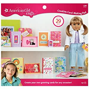 american girl crafts simplicity american crafts greeting card 1043