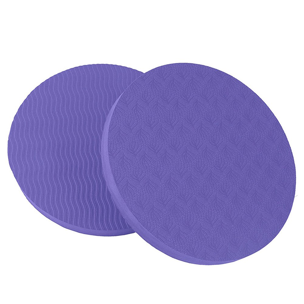 Amazon.com : CHoppyWAVE 2Pcs Round Elbow Knee Pad Yoga Mat ...