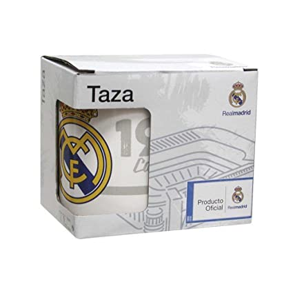 CYP Imports MG-28C-RM Taza cerámica 30 cl en Caja, diseño Real Madrid, 0, 0 Inches
