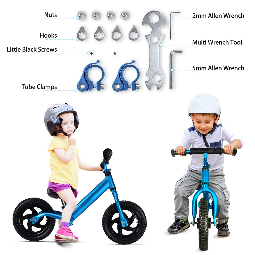 Outon Balance Bike For Kids Aluminum Frame No Pedal Child