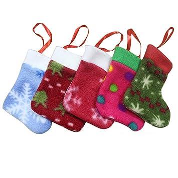 Cute de Navidad guasslee horquilla Knief cuchara titular adornos de árbol de Navidad para cubertería bolsa de bolsillo: Amazon.es: Hogar