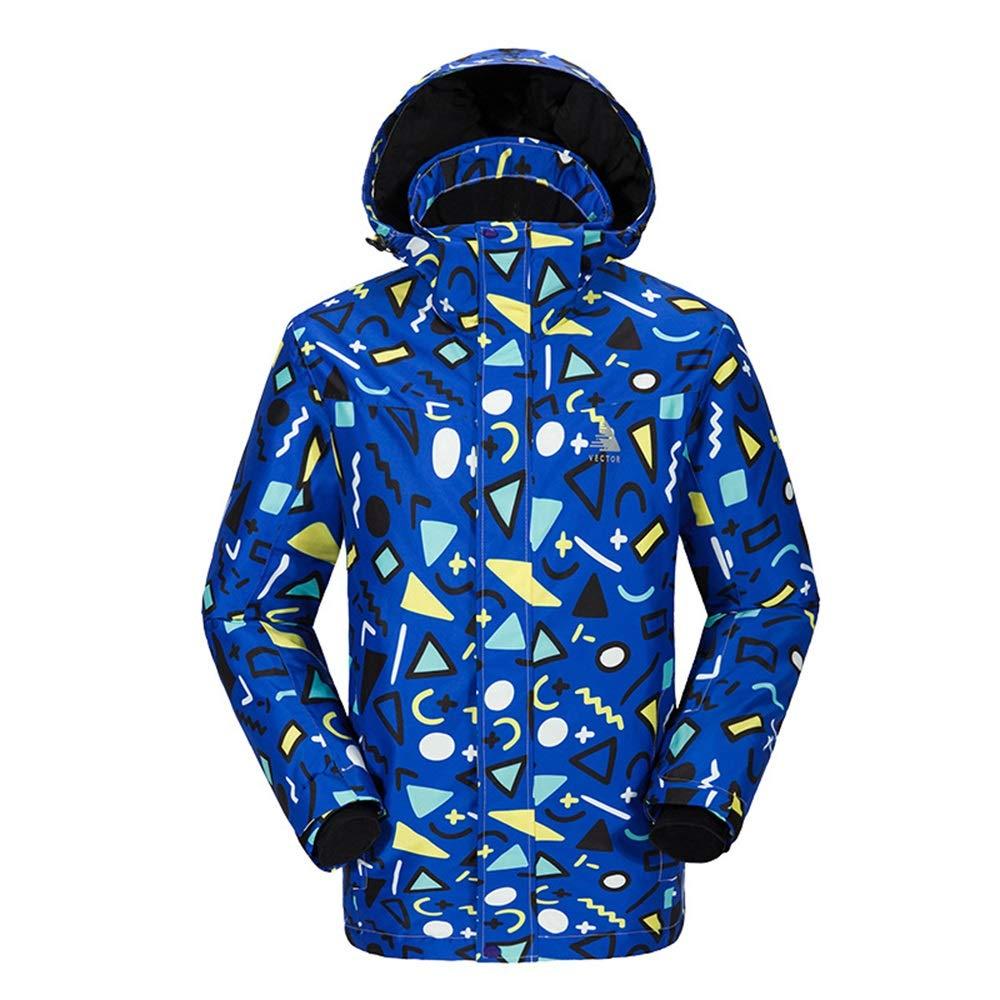 Jxth Giacche Giacche Giacche Invernali Invernali Tuta da Sci Traspirante da Sci da Montagna da Uomo, Aderente e da Sci Abbigliamento Unisex per Sci Snowboard (Coloreee   Wave-blu, Dimensione   S)B07MYRYZH3Large Square-blu | Di Prima Qualità  | Moda E Pacchetti Interessa a53b12