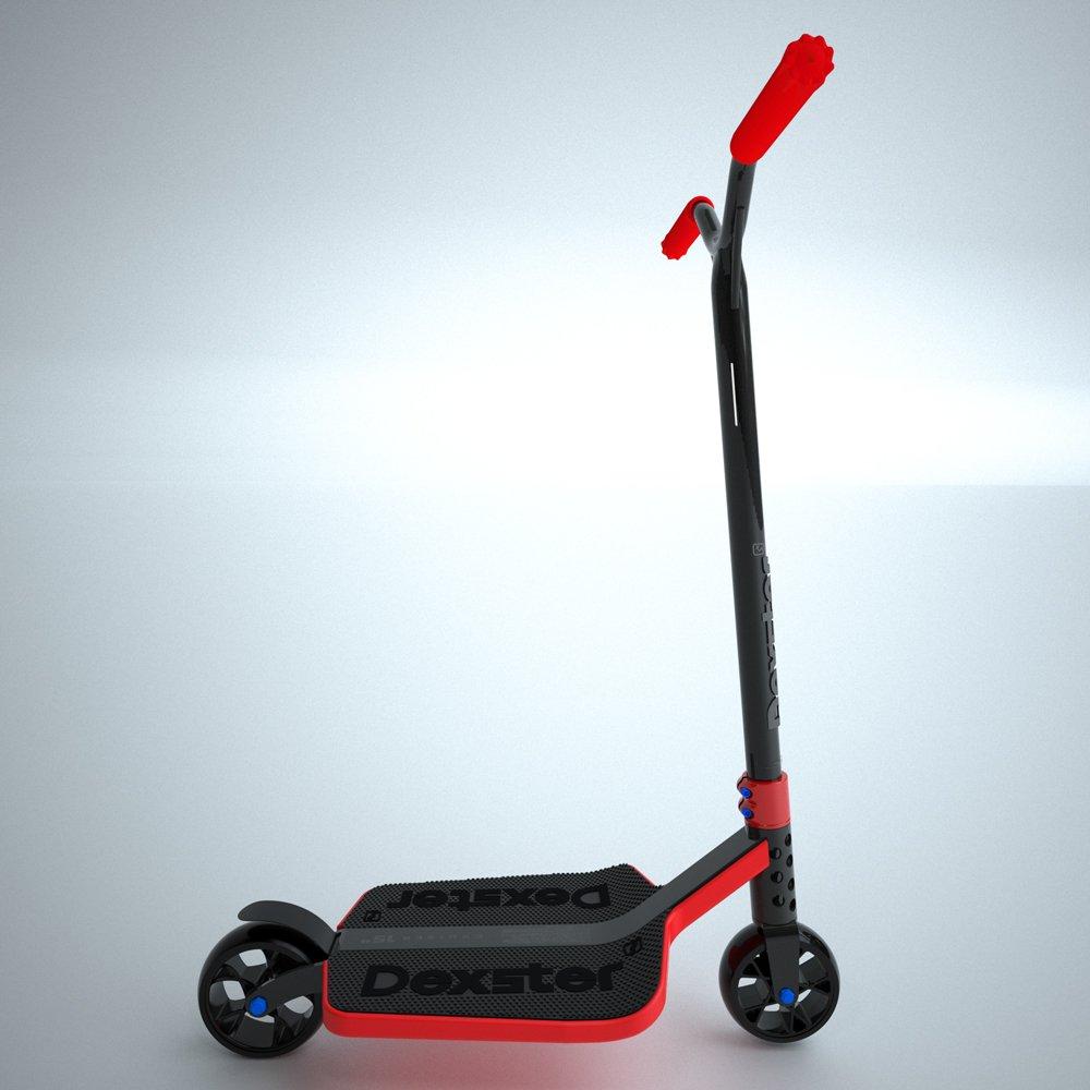 EzyRoller Dexster Ride On - Black/Red by EzyRoller