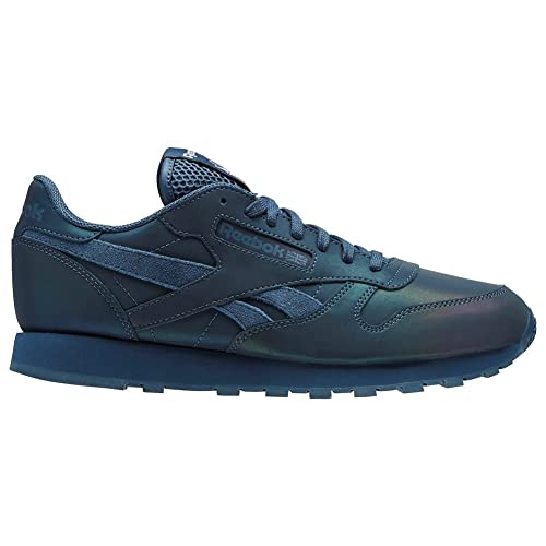 ce936cdd250 Reebok Classics Men s Cl Leather PRS Brave Blue and White Leather Sneakers  - 8 UK India (42 EU) (9 US)  Buy Online at Low Prices in India - Amazon.in
