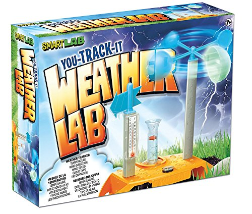 SmartLab You Track It Weather Lab! For Ages 7+ Extreme weather fun facts! You can even go online and download weather charts, great for science fair - Economy Tracking Shipping