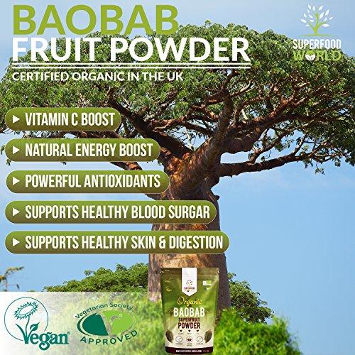Organic-Baobab-Powder-Raw-Organic-Baobab-Superfruit-Powder-Rich-in-Vitamin-C-Fibre-Antioxidants-Supports-Healthy-Skin-Digestion-Blood-Sugar-Ideal-for-Smoothies-Juices-300g