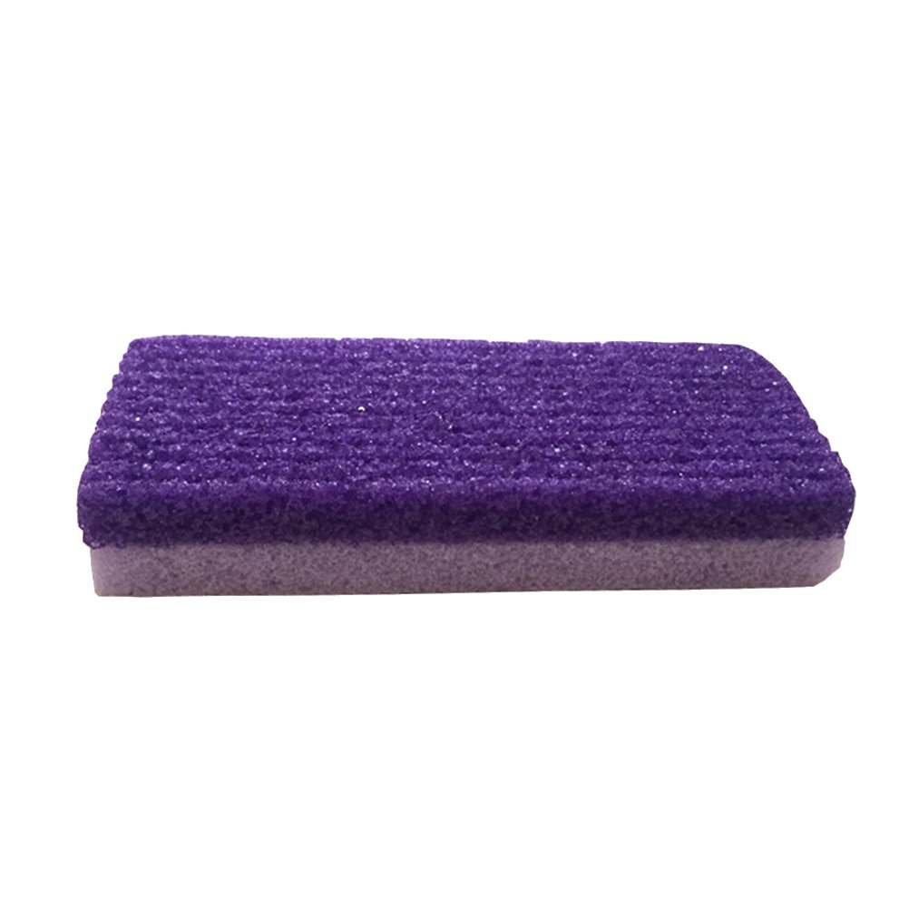 Frcolor Foot Massage Scrub, Exfoliate Pedicure Grinding Feet Care Remove Dead Dry Skin Callus Natural Pumice Sponge Stone