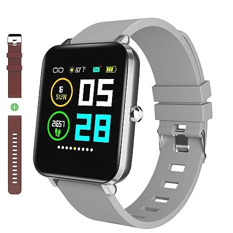 Amazon.com: Zagzog - Reloj inteligente con Bluetooth ...