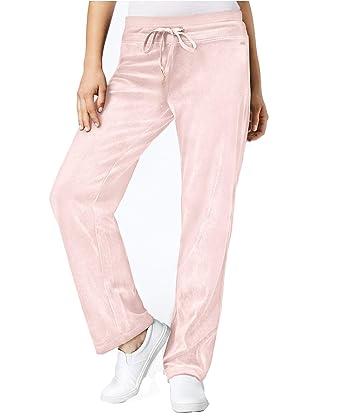 Calvin Klein Women s Velour Jogger Pants at Amazon Women s Clothing store  8bf91786f
