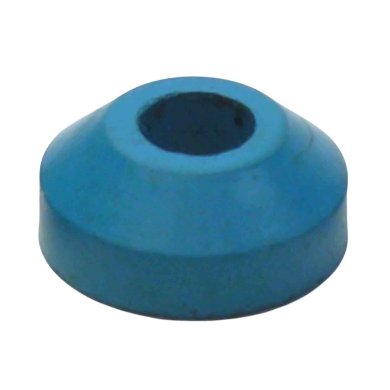 LASCO 02-1100D Size 00 Flat Faucet Bibb Washer, Black Neoprene ...