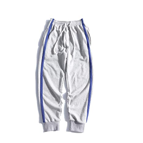 Pantalones de chándal Jogger para hombre Jogging Stitching ...
