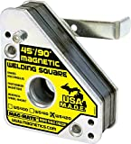MAG-MATE WS420 Magnetic Welding Square with Release Handle and 150 lb Capacity