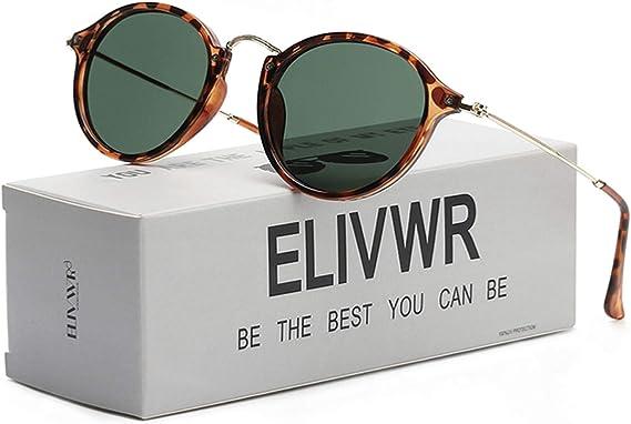 Retro Mens Photochromic Polarized Sunglasses Vintage Fashion Mirrored UV Eyewear