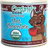 Boulevards Organic Dark Dairy-Free Hot Chocolate Mix, 10-Ounce Cans (Pack of 3)