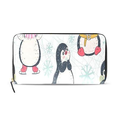 Kawaii Pingüino Inteligente Dibujos Animados Largo Pasaporte ...