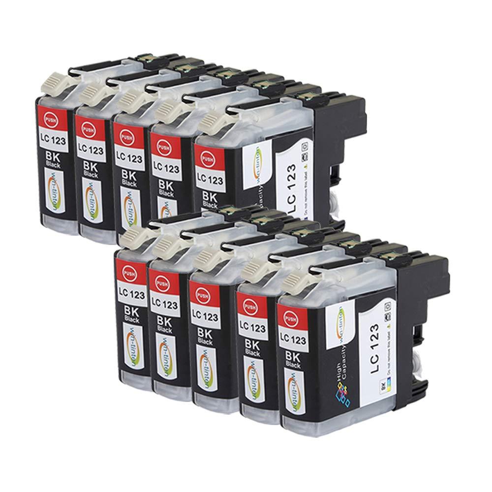 Win-TinTen Paquete Brother LC123XL Cartuchos de Tinta compatibles ...