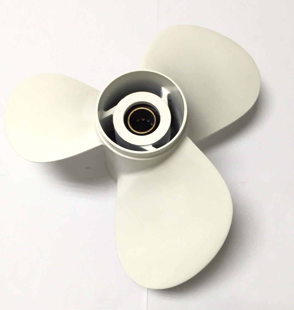 Aluminium Propeller fit Yamaha Outboard F 30HP 40HP 50HP 60HP 3 11 3/8'' x 12'' 6H5-45952-00 02 EL