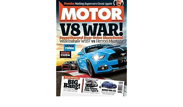 Amazon com: MOTOR Magazine Australia: Kindle Store