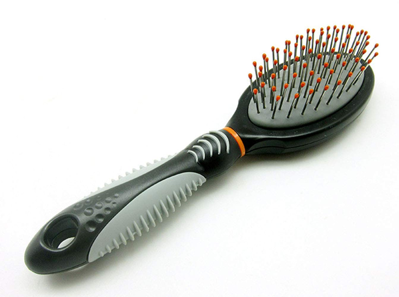 Pet Grooming Brush Slicker Brush Massage Stainless Steel Shedding Tool for Dogs and Cats with Medium and Long Hair Fur