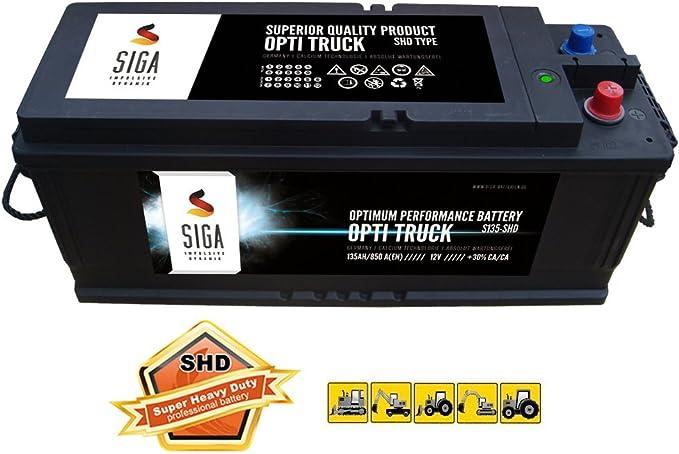 Siga Lkw Batterie 135ah Starterbatterie Schlepper Elektronik