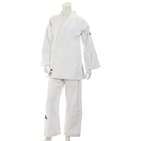 adidas Slim Fit II IJF Judo Gi Weiss: : Sport