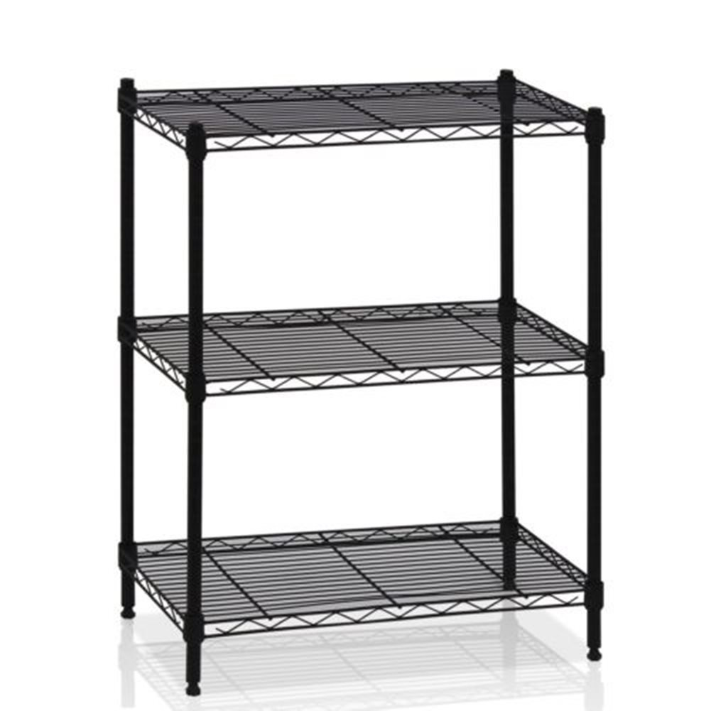 Microwave Oven Storage Organizer Shlef Rack Shelves Shelving Kitchen Cart 3 Tier