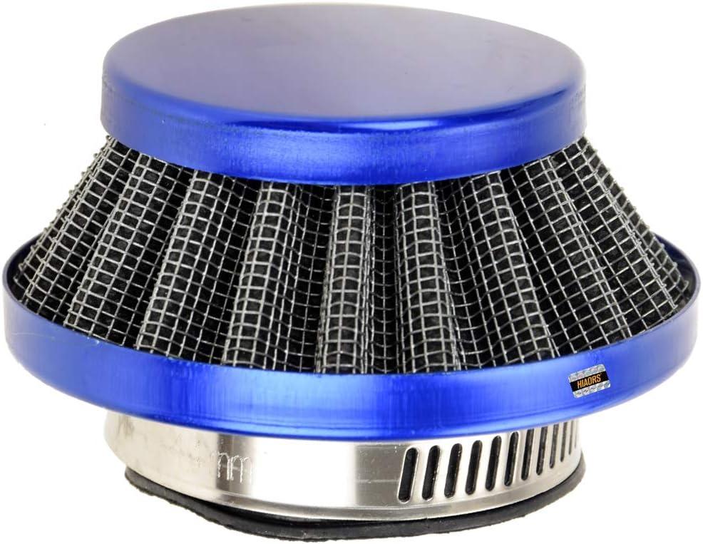 HIAORS Blue 35mm Air Filter for Honda CRF 50 PZ19 Pz20 carb 50cc 70cc 90cc 125cc Kazuma Coolster Peace Tao Tao SunL 110cc ATV 4 Wheeler Dirt Pit Bike Dune Buggy