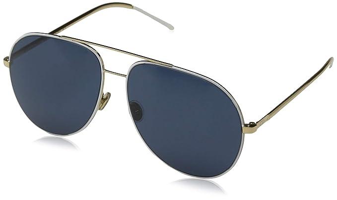 Dior DIORASTRAL KU B4E Gafas de sol, Blanco (White Gold Blue ...