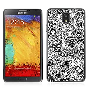 Designer Depo Hard Protection Case for Samsung Galaxy Note 3 N9000 / Cool Badass Tattoo Pattern