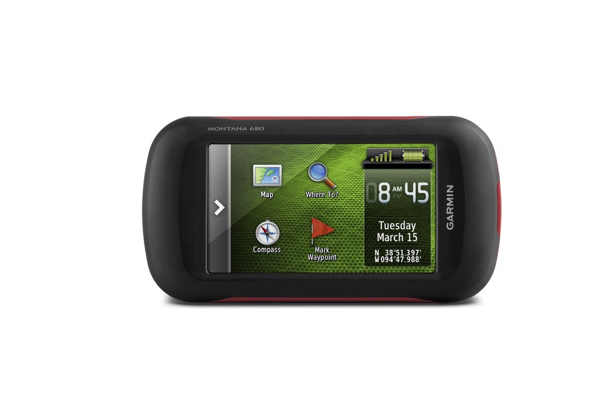Garmin Montana 680 Touchscreen GPS/GLONASS Receiver, Worldwide Basemaps