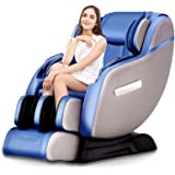 Real Relax Massage Chair Recliner, SL-Track System with Robot Hands, Zero Gravity, Full Body Shiatsu, Space-Saving with heating therapy & Bluetooth Audio play
