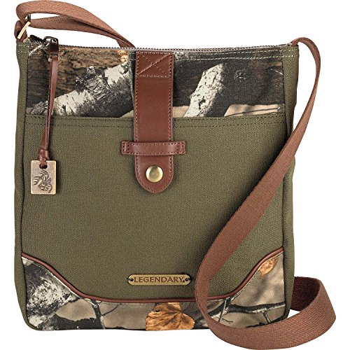 Legendary Whitetails Weekend Adventure Cross Body Purse Army by Legendary Whitetails