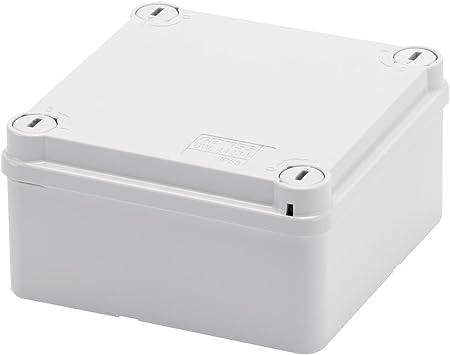 Gewiss GW44234 De plástico Caja de conexión eléctrica - Cuadro eléctrico (Gris, 100 mm, 50 mm, 100 mm): Amazon.es: Bricolaje y herramientas