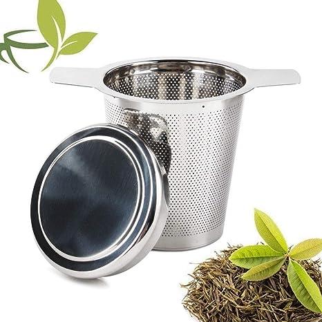 Sivaphe filtros para té infusor de té de acero inoxidable ...