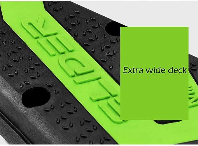 Amazon.com: JSZHBC Patinete plegable de 3 ruedas, para ...