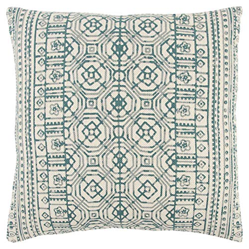 (Rizzy Home T13132 Decorative Down Filled Throw Pillow 20