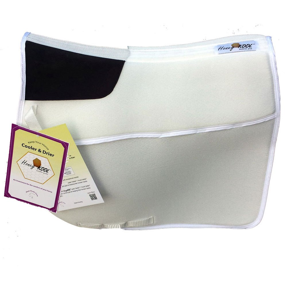 Plum Shade Farm Honeykool Dressage Combo Half Pad