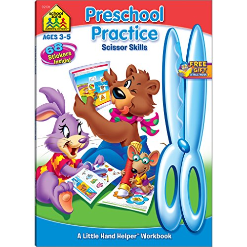 Preschool Practice Scissor Skills
