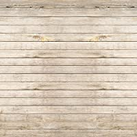 FiVan-Us 8x8ft(250x250cm) Photo studio photography backdrop background printed with light khaki wood FT-4030