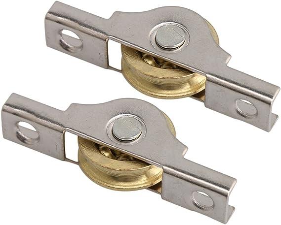 BQLZR Rueda corredera de cobre de 20 mm para armarios, armarios, puertas, paquete de 20: Amazon.es: Bricolaje y herramientas