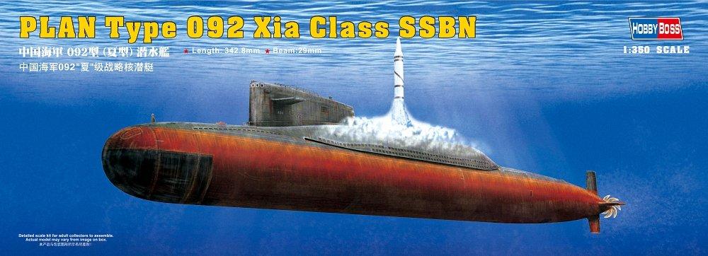 Hobby Boss 83511 PLAN Type 092 Xia Class Submarino a escala
