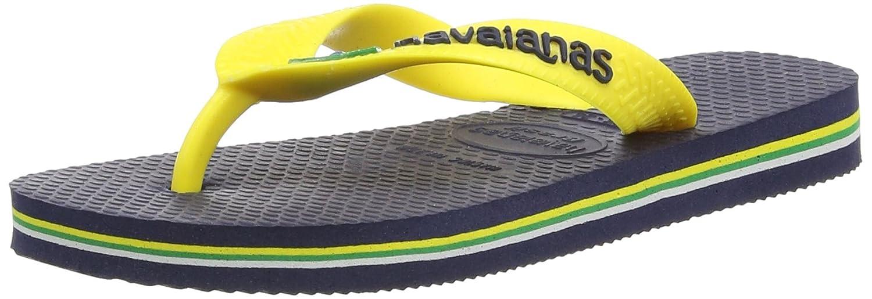 956ee308b1a99b Havaianas Kids Flip Flops Brasil Logo - Children s Flip Flops   Amazon.co.uk  Shoes   Bags