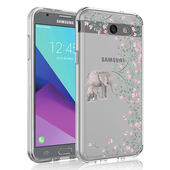 Case for Samsung Galaxy J3 Emerge / J3 2017 / J3 Prime / J3 Mission / J3 Eclipse / J3 Luna Pro/Amp Prime 2 / Express Prime 2, SYONER [Scratch ...