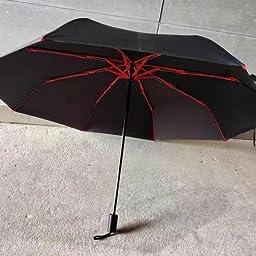 Amazon Co Jp カスタマーレビュー 折りたたみ傘 軽量 丈夫な8本骨 Fasaz Teflon超撥水 コンパクト 折畳み傘 晴雨兼用 手動開閉 おりたたみ傘 傘カバー付き 290g ブルー1