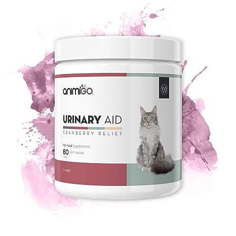 Animigo Ayuda Urinaria para Gatos - Suplemento Natural para la Salud ...