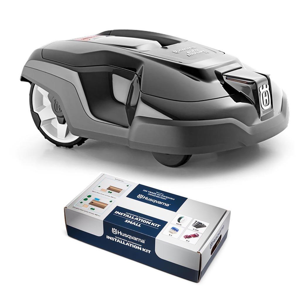 Husqvarna Automower 315 Automatic Robotic Lawn Mower w/ FREE Small Install Kit