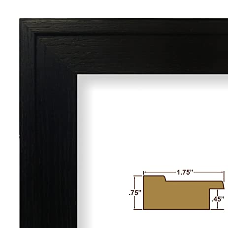 Amazon.com: 16x21 Picture / Poster Frame, Wood Grain Finish, 1.75 ...