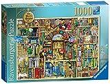 Best Jigsaw Puzzles For Adults - Ravensburger Bizarre Bookshop 2 Jigsaw Puzzle (1000-Piece) Review